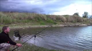 getlinkyoutube.com-Nocna wrześniowa zasiadka na Odrze   sum leszcz okoń   wędkarstwo gruntowe   film wędkarski