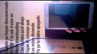 getlinkyoutube.com-Instalar RECOVERY TWRP Y ROOT por PC Tab4 SM-T230