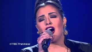 getlinkyoutube.com-#MBCTheVoice - كريستين سعيد - Adagio+ حبيبي- مرحلة العروض المباشرة