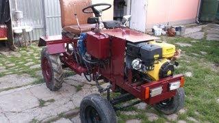 getlinkyoutube.com-Удосконалення саморобного трактора