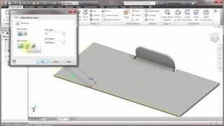 Inventor Sheet Metal Folds