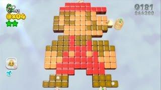 getlinkyoutube.com-Super Mario 3D World 100% Walkthrough Part 11 - World 5 (5-3, 5-A, 5-4, 5-5) Green Stars & Stamps