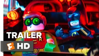 The LEGO Batman Movie Official Comic-Con Trailer