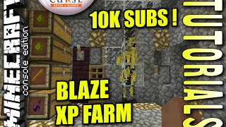 getlinkyoutube.com-Minecraft PS4 -  BLAZE XP FARM - How To - Tutorial ( PS3 / XBOX ) WII