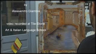 getlinkyoutube.com-Venice - oil painting demonstration  by Alessandro Giambra