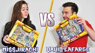 getlinkyoutube.com-EPIC BATTLE ! Ouverture de 2 Méga Coffret Pokémon Hoopa EX et Pikachu EX !