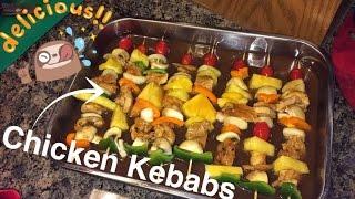 getlinkyoutube.com-How to Make: Chicken Kebabs (Football Treat)