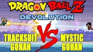 getlinkyoutube.com-Dragon Ball Z Devolution: Mystic Gohan vs. Tracksuit Gohan! [New Version 1.2.3]