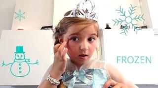 AMY#tuto maquillage #la reine des neiges #frozen