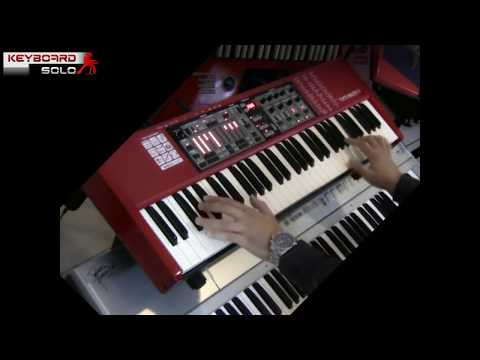 Clavia Nord Electro 3 performed by S4K ( space4keys hammond clone el.piano )