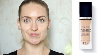 getlinkyoutube.com-Обзор DIORSKIN FOREVER Perfect Makeup Everlasting Wear Pore Refining Effect SPF 35 | Надя Хякли