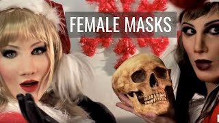 Monica silicone mask - Christmas Version