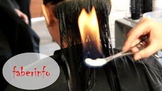 getlinkyoutube.com-ВОЛОСЫ Обжиг (лечение) огнем. Довольна ли я? Пирофорез