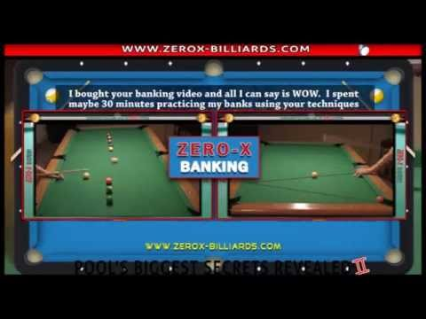 Pool Lessons - Supercharge your Banking! Banking Secrets - Tips