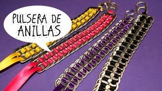 getlinkyoutube.com-♥DIY♥ Pulseras con anillas