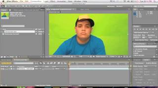 After Effects - Pantalla Verde (Tutorial)