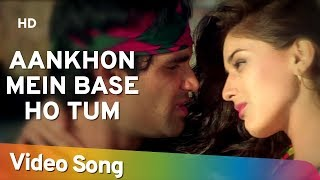 getlinkyoutube.com-Aankhon Mein Base Ho Tum (Duet) - Sunil Shetty - Sonali Bendre - Takkar - Bollywood Songs - Abhijeet