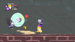 getlinkyoutube.com-Castle Crashers - Super Fast Exp Glitch (PS3)