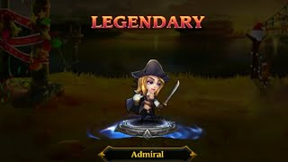 Heroes Charge. Admiral. Legendary Quest. Level 94