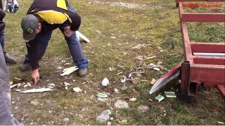 getlinkyoutube.com-Pulverized RC plane and engine - 2x Rc plane crash - Flying in windy condition