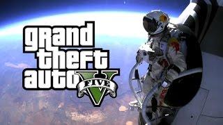 getlinkyoutube.com-GTA5 우주에서 스카이다이빙을 해 보았다 - GTA5 Space Sky Diving : [우왁굳]