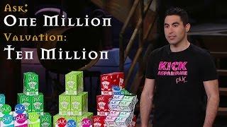 getlinkyoutube.com-Biggest deal ever? Pur Gum wants $1 million with a $10 million valuation!