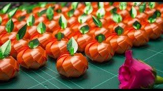 getlinkyoutube.com-วิธีพับเหรียญโปรยทาน ส้ม by ลูกน้ำ