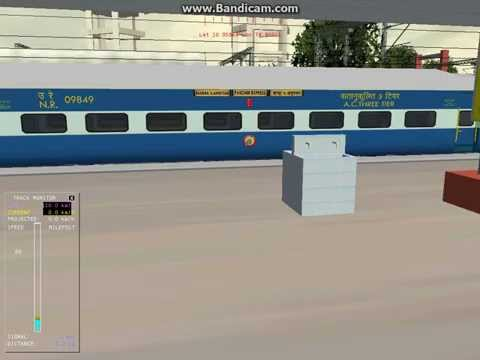 MSTS Indian Railways Bhopal Station Announcement