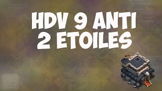 getlinkyoutube.com-Un village exceptionnel : HDV 9 Anti 2&3 étoiles