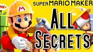 getlinkyoutube.com-Super Mario Maker ALL SECRETS & Hidden Features (Wii U)