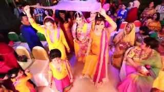 getlinkyoutube.com-Cine Brides - Holud Ceremony of Fariya & Rezwan