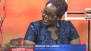 MWAMBA WA LUGHA: Makuzi ya Kiswahili na Geoffrey Mung'ou 2nd April 2016