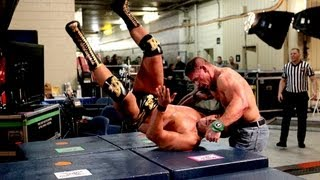 getlinkyoutube.com-John Cena vs. Alberto Del Rio  Falls Count Anywhere: Raw, Sept. 3, 2012