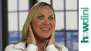 getlinkyoutube.com-Yoga facial exercises: How to create full lips with face yoga