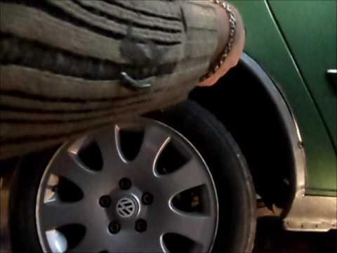 Volkswagen Sharan. Ремонт крыла