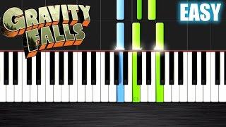 getlinkyoutube.com-Gravity Falls Theme - EASY Piano Tutorial by PlutaX - Synthesia