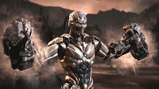 getlinkyoutube.com-Mortal Kombat XL - Cyber Tremor Costume / Skin *PC Mod*