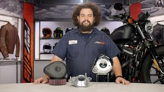 getlinkyoutube.com-S&S Teardrop Air Cleaner Kit for Harley Review at RevZilla.com