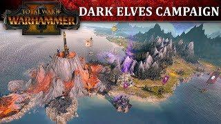 Total War: WARHAMMER II - Dark Elves Kampány Játékmenet