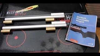 getlinkyoutube.com-Homemade PCP Air Rifle - Modern Pneumatic Airgun - H.M. Buckley