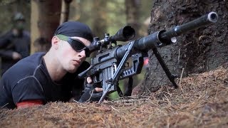 getlinkyoutube.com-AIRSOFT SNIPERS CHEYTAC Intervention M200. L96, DRAGUNOV svd