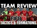FIFA 14 | Team Review | FC Bayern Munich Tactics / Formations (H2H Season) Best Full Guide