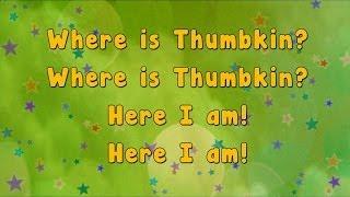 getlinkyoutube.com-Karaoke - Karaoke - Where is Thumbkin?