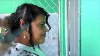 getlinkyoutube.com-Corte Chanel em Cabelo Cacheado Por Meire Regina