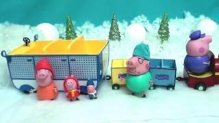 getlinkyoutube.com-Peppa Pig Cвинка Пеппа Пиг. Все серии подряд. Свинка Пеппа Зимой.  Пришла зима