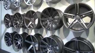 getlinkyoutube.com-SEMA Show 2012 Vossen Wheels Booth