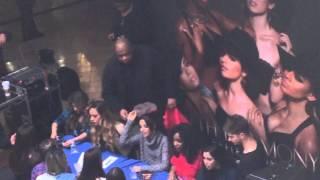 getlinkyoutube.com-Camila wearing a Harry Styles mask at Fifth Harmony signing. Woodbrige, NJ. 2/1/15.