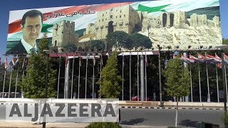 Syria shows how it is rebuilding Aleppo