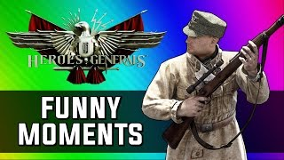 getlinkyoutube.com-Funniest World War 2 Game Ever! (Heroes and Generals Funny Moments)