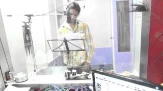 Hambruna vasrala chatati jevha gay song Practice  In Recording Studio   sagar jain  